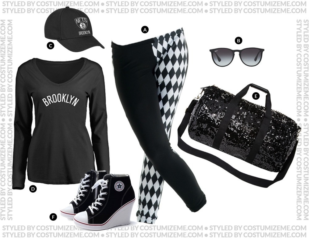Brooklyn Nets Game Day Fan Fashion Outfit