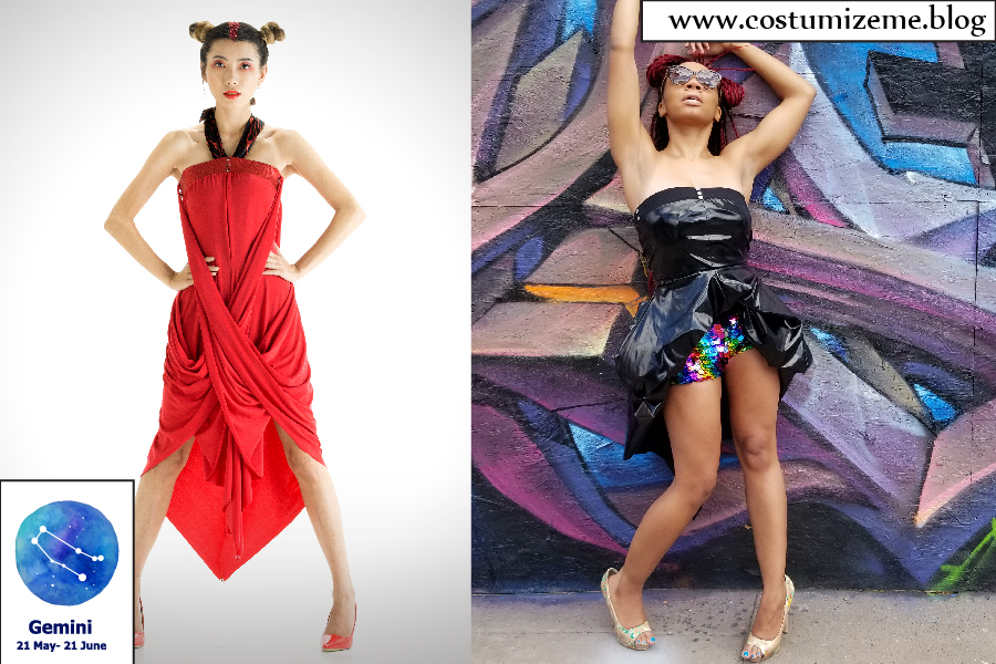 Convertible Dresses for Zodiac Sign Gemini