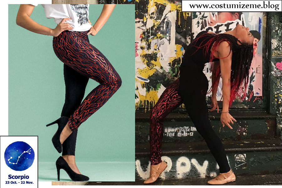 Fashion Leggings for Scorpio Zodiac Sign